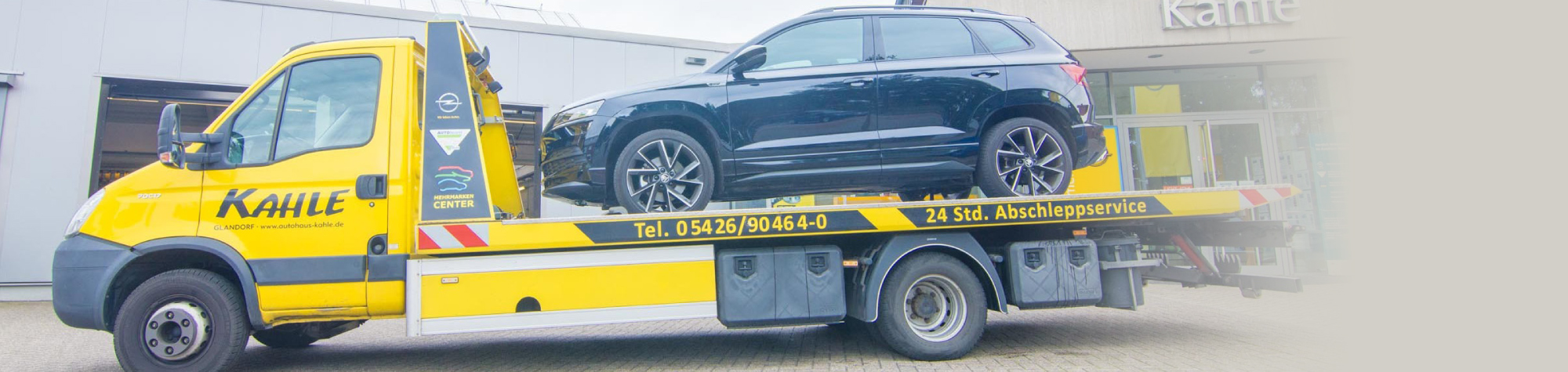 24-Std-Abschleppservice - Autohaus Kahle